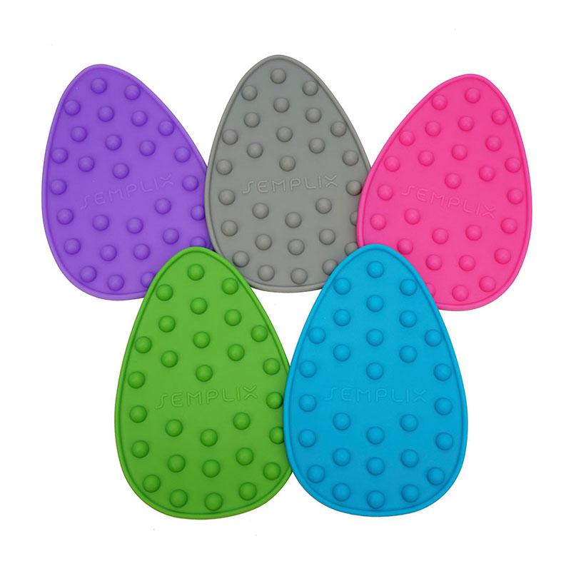 Mini Bügeleisenablage aus Silikon in unterschiedlichen Farben